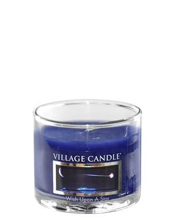Wish Upon A Star Village Candle  Mini Jar  Village Candle Wish Upon A Star Mini Jar  De sfeer van sterrenkijken onder een open, glinsterende lucht. Geniet van de warme noten van ceder, Spaans mos, en bergamot geaccentueerd door een zachte geur van lavendel en pittige citrus in deze romantische mini kaars