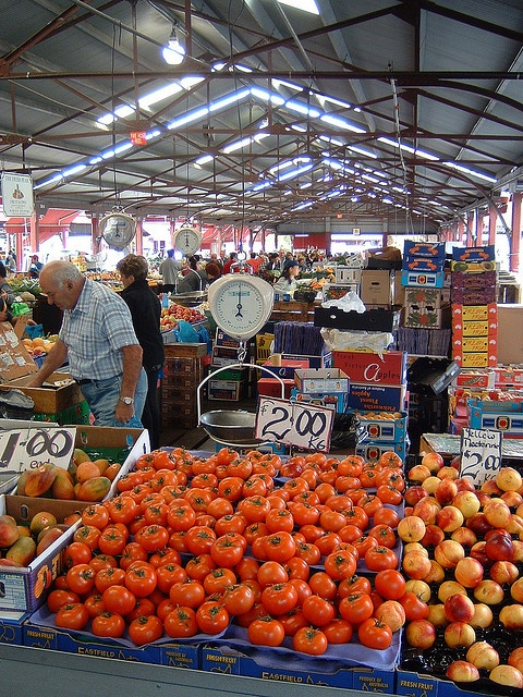 """Queen Victoria Market"" is one of Melbourne's oldest yet most vivid markets, and a great place to just stroll around and look for bargains... by Taccolina, via Flickr"