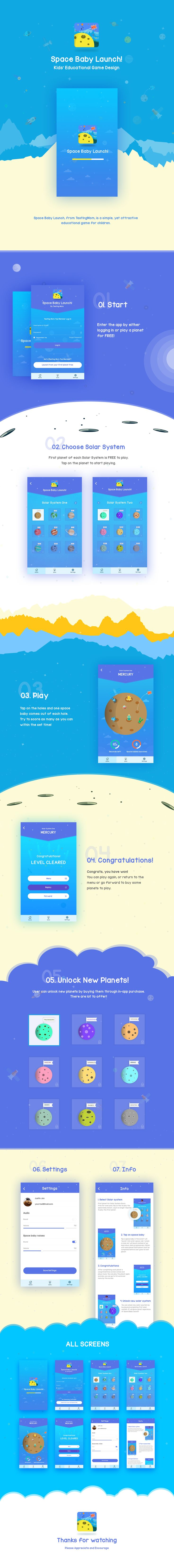 Kids Educational Game App on Behance