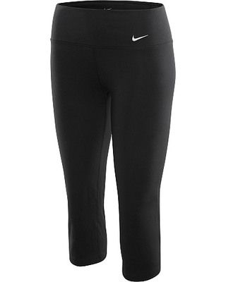 NIKE Womens Legend 2.0 Slim-Fit Cotton Capri Pants