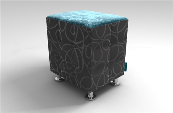 Banco - Fantastic combination for a stool by TheVelvetLab®