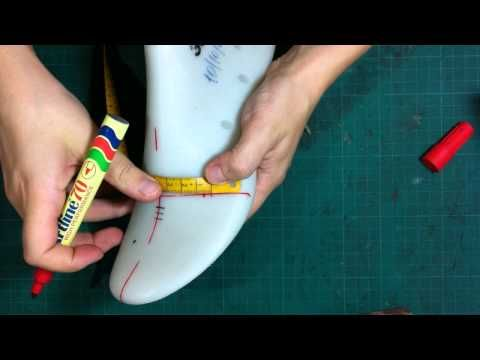 How to make shoes:Making a shoe-tutorial classic dicolte shoes