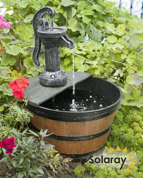 solaray solarbrunnen - Deko Solar Springbrunnen Mit Akku Set Led Balkon Terrasse Solarbrunnen Zierbrunnen Ebay