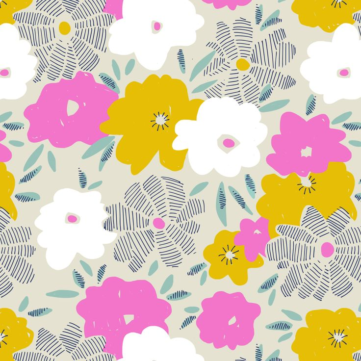 Layered Blooms - Pattern designed by Emily Isabella.
