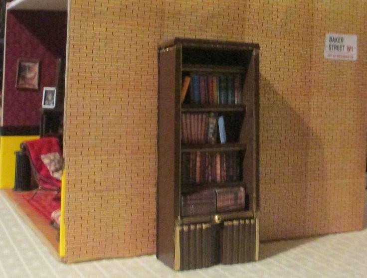 221B Baker Street - library