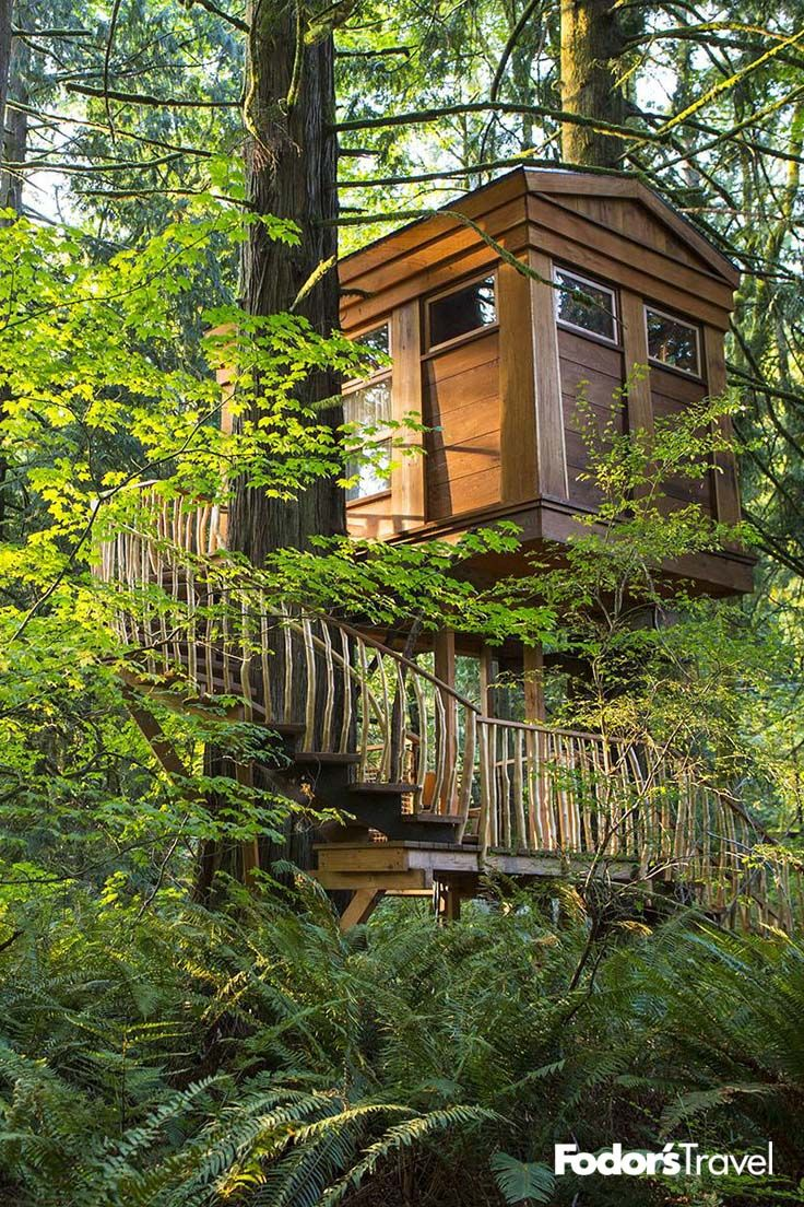 10 Incredible Treehouse Hotels In The U S Tree House Resort