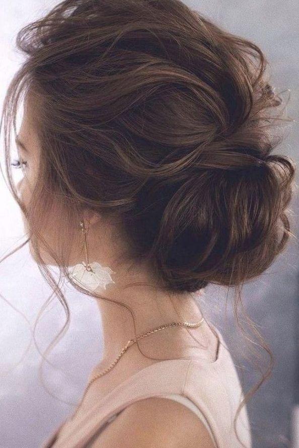 15 Stunning Low Bun Updo Wedding Hairstyles From Tonyastylist Hair Style Hairstyl Short Hair Styles Easy Wedding Hairstyles For Long Hair Long Hair Styles