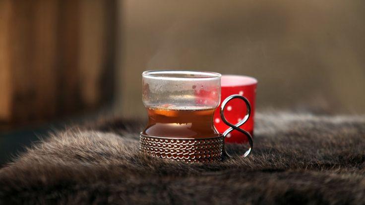 Varm tedrikk med whisky