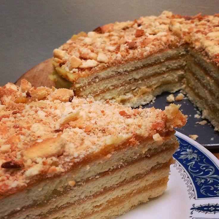 Russian Honey Cake, Medovik