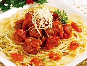 Spaghetti Saus Cumi