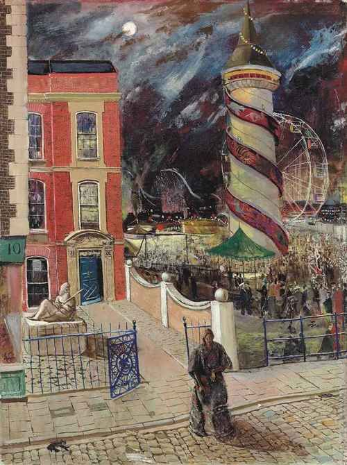 The fair, Carel Weight. English (1908 - 1997) [Weight was a great artist, like…