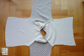 kostenlose Nähanleitung für ein praktisches Oberteil für Kinder / Longsleeve / Kindershirt - mit Schnittmuster - schnell und einfach, mit am. Ausschnitt