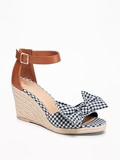 0c3f8ba6a Women:Shoes|old-navy blue gingham | shoes in 2019 | Gingham shoes, Shoes,  Espadrilles