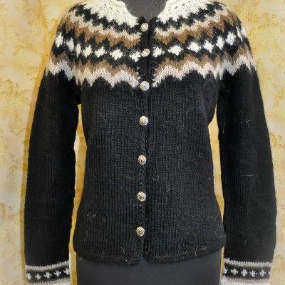 Button Cardigan - Icelandic sweater