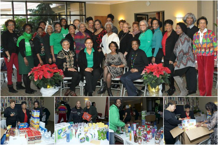 Our December 2016 Friendship and Service Luncheon was a big success!  Lots of items were collected for local food pantries and a local school district.