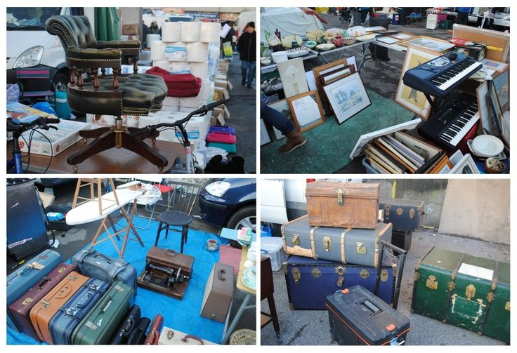 London - Wimbledon car boot sale (flae market)