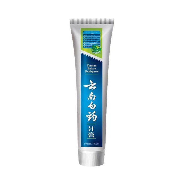 Yunnan Baiyao Chinese Herbal Toothpaste Gum Bleeding Hemostasis Dental Ulcer Repairing