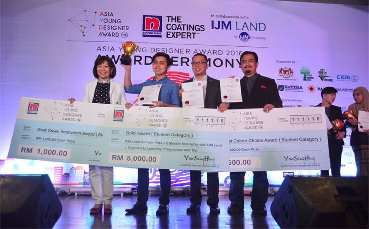 Nippon Paint Asian Young Designers Award 2016 | Photos