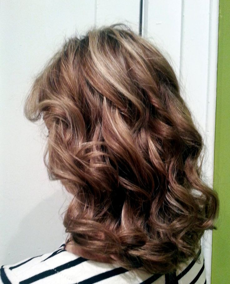 Gallery For > Dark Brown Lowlights And Blonde Highlights