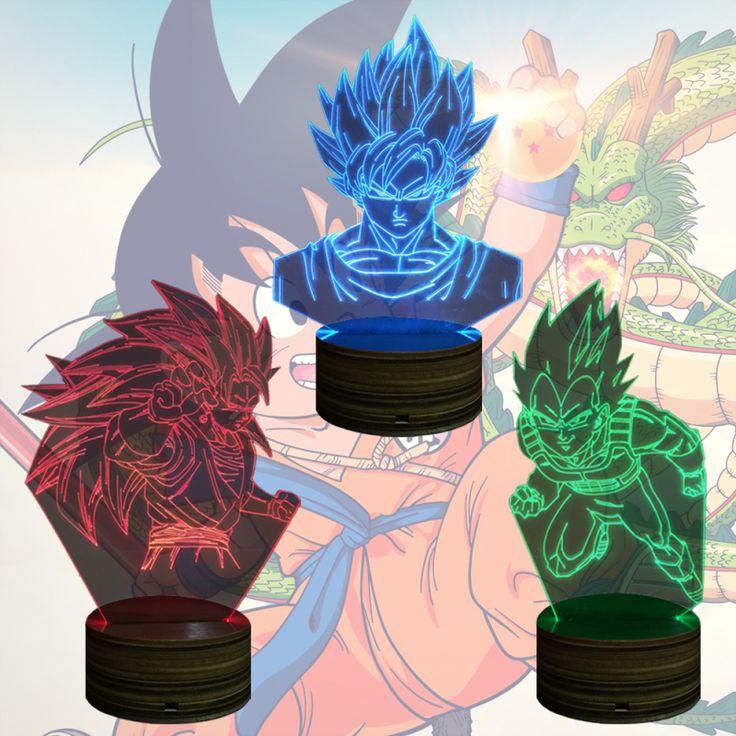 Dragon Ball Z 3D LED Table Light //Price: $23.99 & FREE Shipping //     #hashtag4