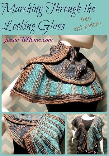 Marching Through the Looking Glass ~ free knit pattern by Jessie At Home