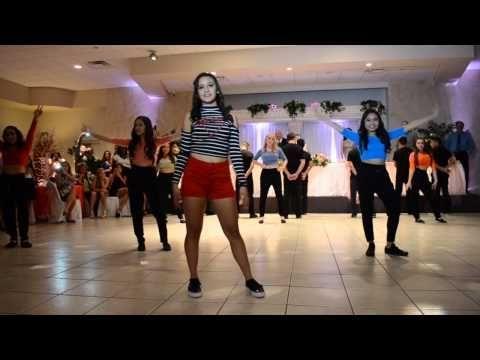 Coreografía de baile para quinceañeras. #CoreografiaQuinceaneras