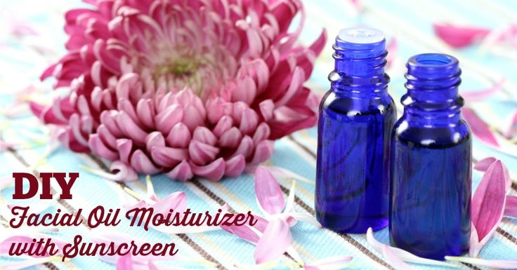 DIY Facial Oil Moisturizer with Sunscreen - CARROT ESSENTIAL OIL IS THE BEST NATURAL SUNSCREEN  #DIY #Beauty - DontMesswithMama.com