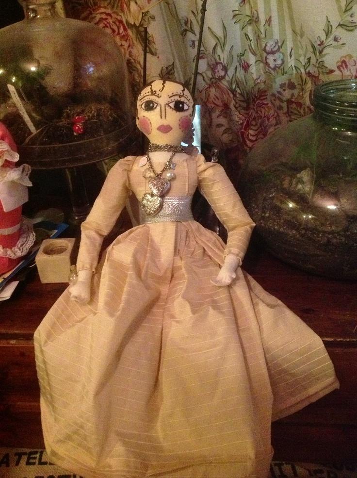 Queen Ann art doll