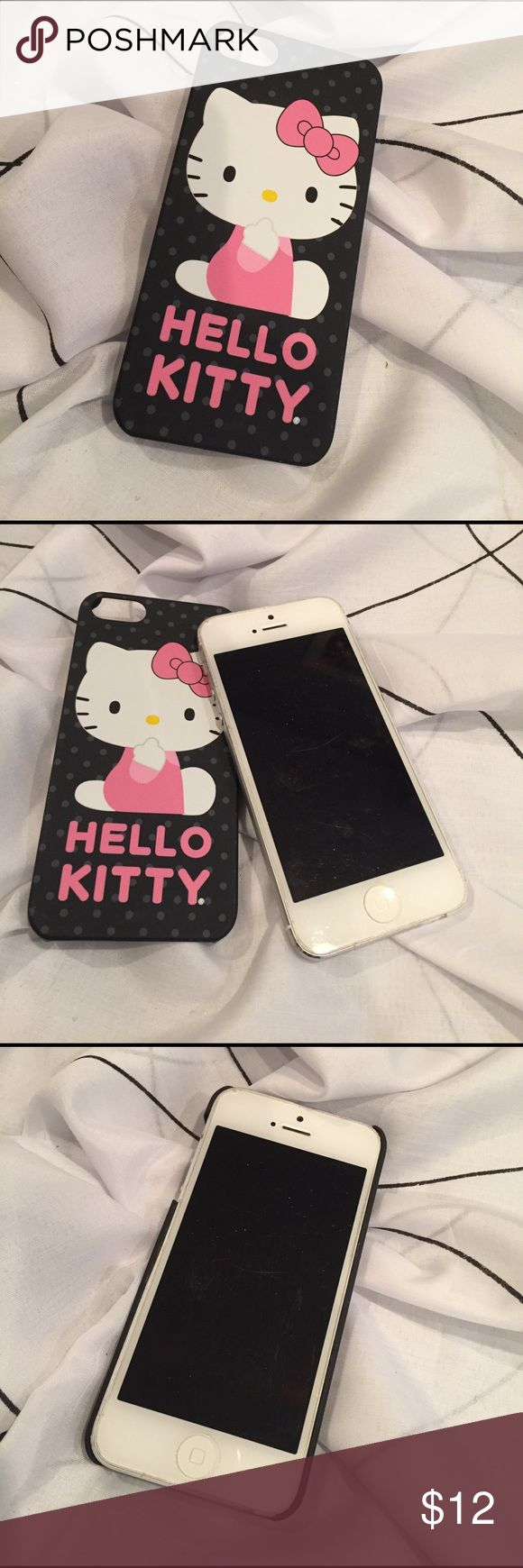 "Hello Kitty iPhone 5 case ""Phone Not For Sale""! :) Hello Kitty iPhone 5 case Hello Kitty Accessories Phone Cases"