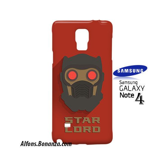 Star Lord Superhero Samsung Galaxy Note 4 Case