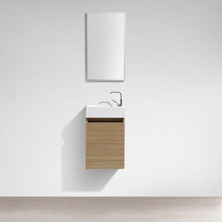 17 meilleures id es propos de meuble lave main sur for Meuble bureau largeur 40 cm