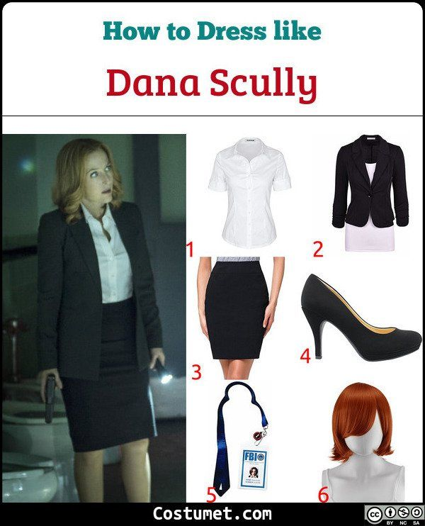 Halloween 2020 Dana Dana Scully Costume for Cosplay & Halloween 2020 | Dana scully