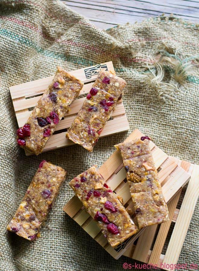 S-Küche: Raw Bar - Roher Energieriegel