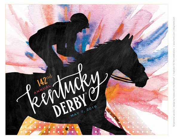 FREE Kentucky Derby® Party Printables - Garden Party {Updated for ...