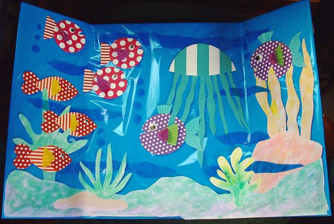 Under the Sea Diorama on Hands On Crafts for Kids @Elmer's