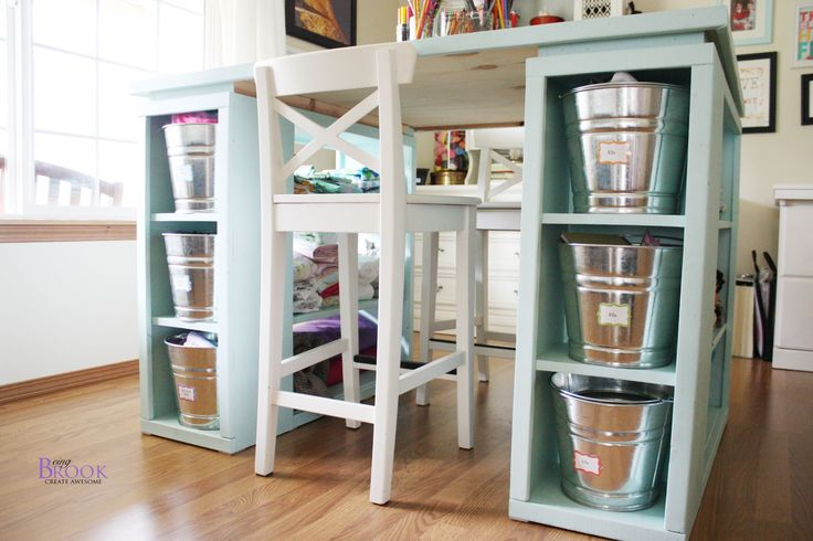 Diy Craft Room Table: 17 Best Images About Craft Room Tutorials On Pinterest
