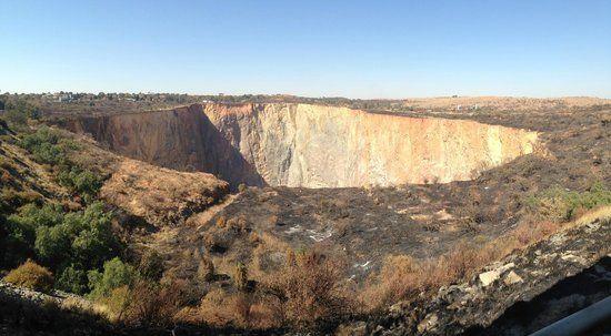 Famous Cullinan Diamond Mine.
