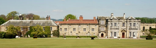 Newburgh Priory - a great venue for a wedding in a marquee