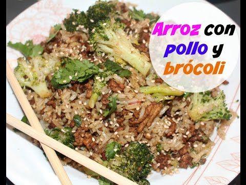 Arroz con pollo y  brócoli (cena completa en menos de una hora) | Cocina...