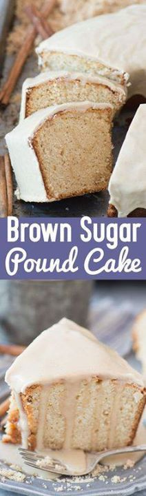 This rich and comfor This rich and comforting brown sugar pound cake is a staple in our family! We bring it to potlucks and neighborhood parties! Recipe : http://ift.tt/1hGiZgA And @ItsNutella  http://ift.tt/2v8iUYW  This rich and comfor This rich and comforting brown sugar pound...