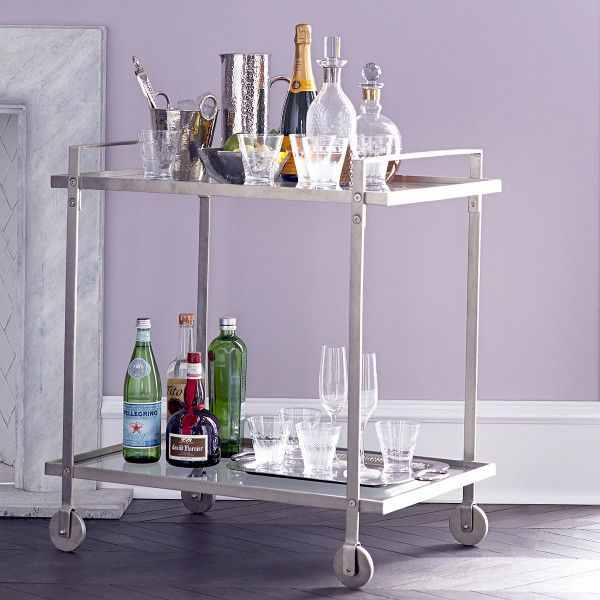 Mixer's Bar Cart