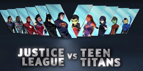 New Justice League vs. Teen Titans Movie | I Am Obsessed! #fangirling