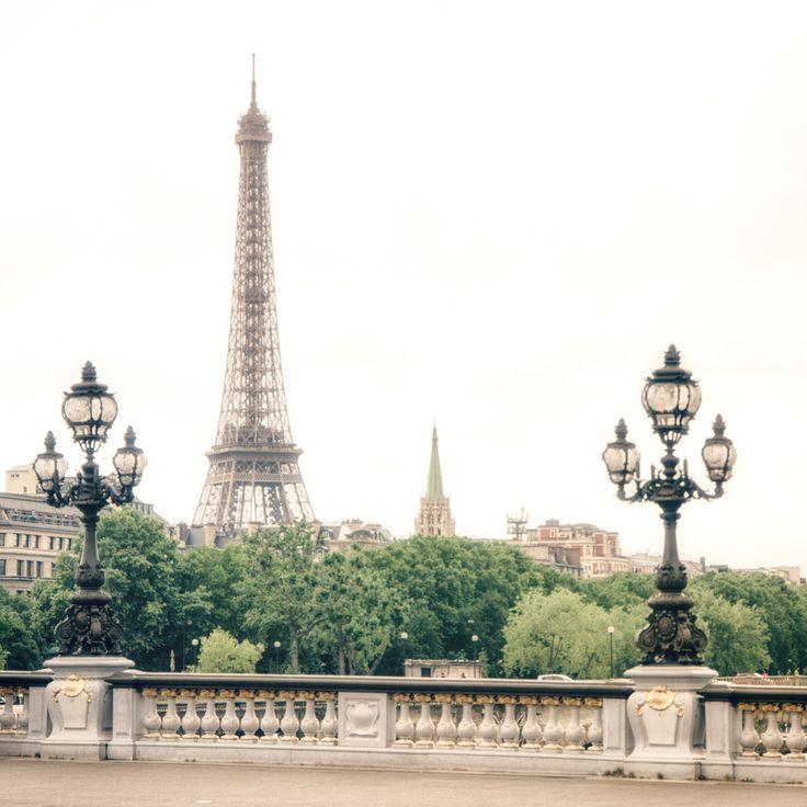 Paris - Eiffel Tower View Along the Seine - France