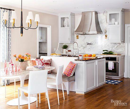 Kitchen Island With Bench Seating 30 best kitchen island images on pinterest | modern kitchen island