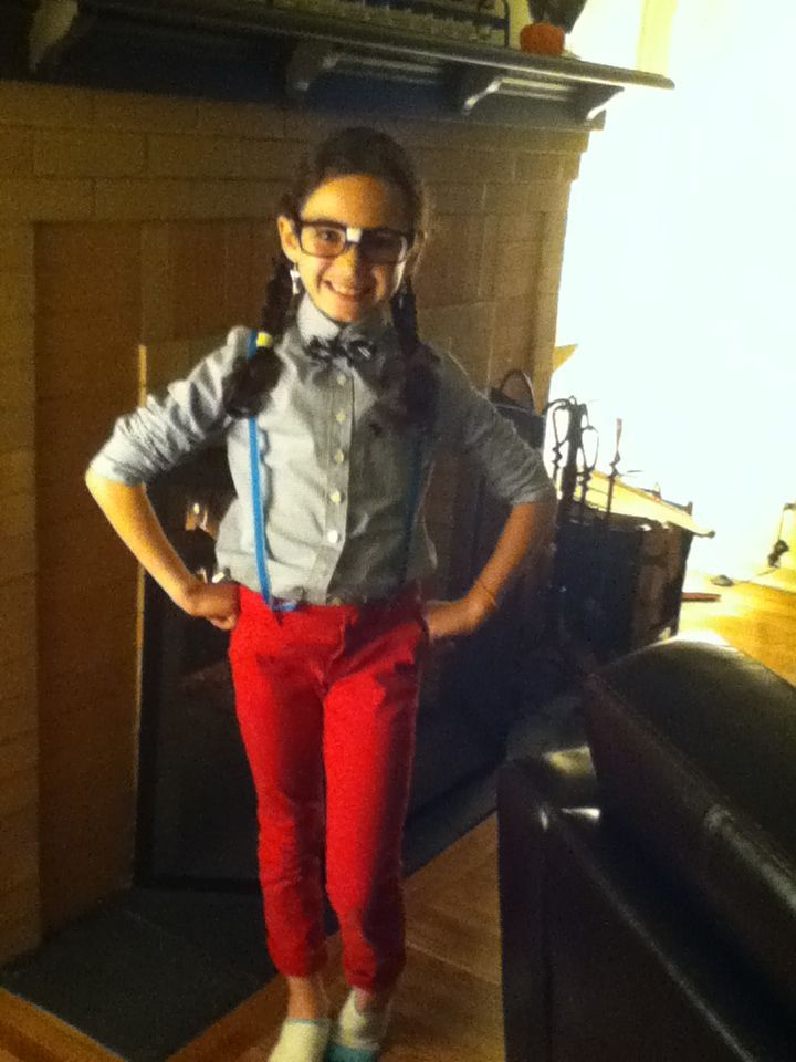 """Cute nerd costume (we made it in one day!:)   future costumes ..."""""""