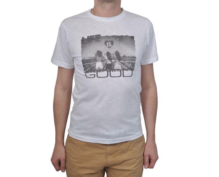 """Ανδρική Μπλούζα T-Shirt """"Villaco"""" σε χρώματα 100% Βαμβάκι"""
