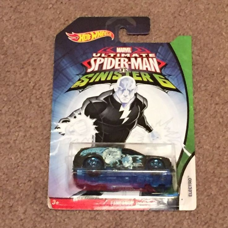 2015 Hot Wheels Marvel Ultimate Spider-Man vs Sinister 6 Electro FANDANGO (New) #HotWheels #Fandango