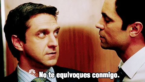 Whenever Nick or Barba speak in Spanish it makes me swoon! ❤❤❤