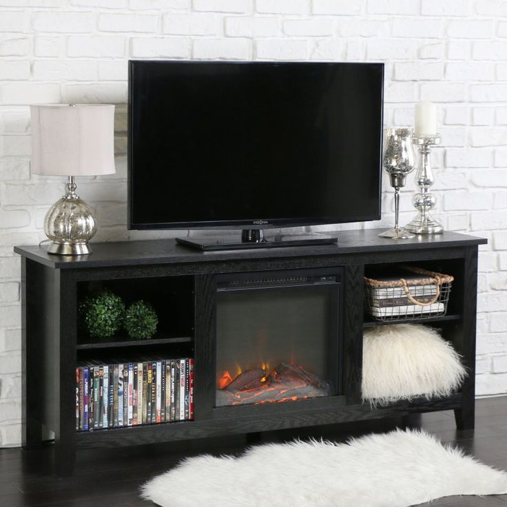 Electric Fireplace electric fireplace with tv stand : 25+ beste ideeën over Electric fireplace tv stand op Pinterest