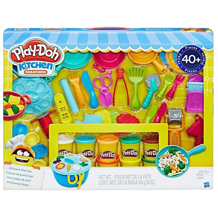 Play Doh Kitchen Creations Ultimate Chef Set